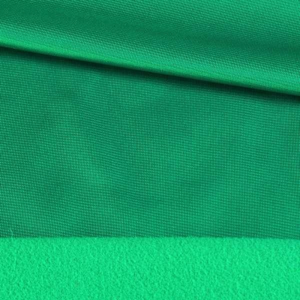 Трикотаж спорт з начосом зелений (молода трава) ш.145 оптом