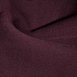 Трикотаж коричнево-бордовый на флисе ш.160 оптом