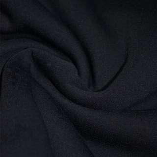 Трикотаж синий темный на флисе ш.160 оптом