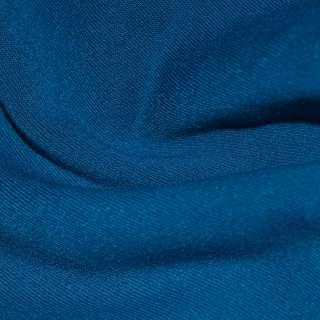 Трикотаж синий на флисе ш.160 оптом