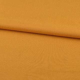 Трикотаж на флисе желто-оранжевый ш.190 оптом