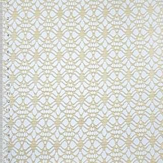 Сетка кружево пшеничная цветок ш.170 оптом
