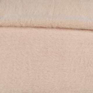 Ангора длинноворсовая трикотаж бежевая светлая ш.135 оптом
