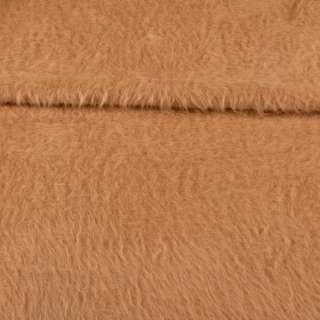 Ангора довговорсова, трикотаж бежево-коричнева ш.200 оптом