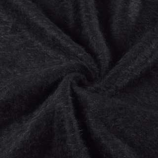 Ангора довговорсова, трикотаж чорна ш.135 оптом