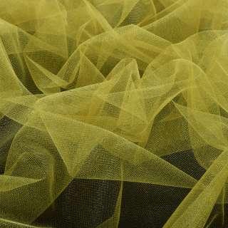Еврофатин мягкий блестящий желтый, ш.140 оптом