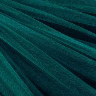 Еврофатин мягкий блестящий морская волна, ш.140 оптом