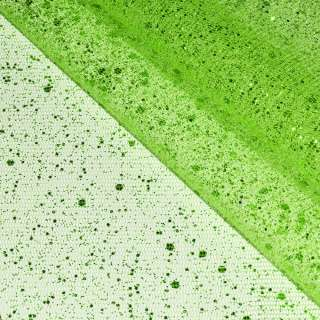 Фатин лайм с блестками (напыление дождь) ш.160 оптом