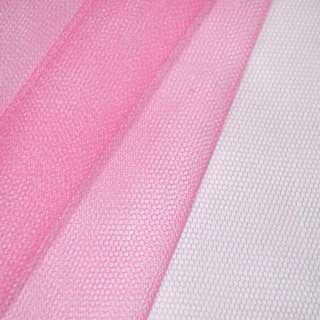 Фатин жесткий ярко-розовый ш.180 оптом