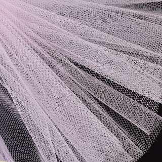 Фатин жесткий молочно-розовый ш.180 оптом