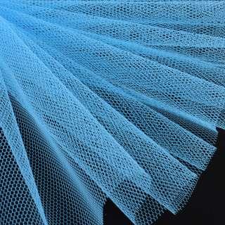 Фатин жесткий голубой ш.180 оптом