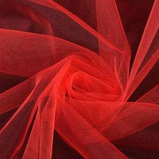 Еврофатин мягкий блестящий красный яркий ш.165 оптом