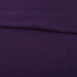 Флис темно фиолетовый ш.160 оптом