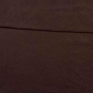 Флис коричневый темный ш.165 оптом