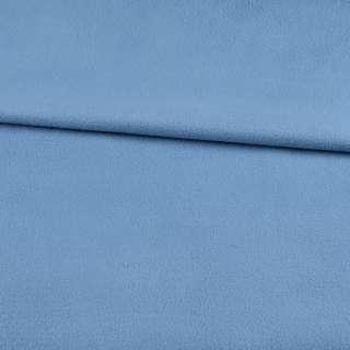 Фліс блакитний з синім відтінком ш.168 оптом