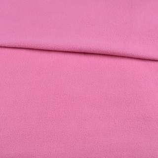 Флис розовый гвоздика ш.195 оптом