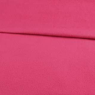 Флис розовый яркий ш.190 оптом