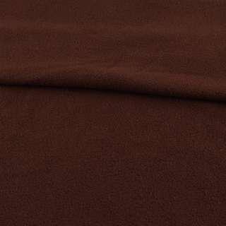 Флис коричневый шоколадный, ш.165 оптом