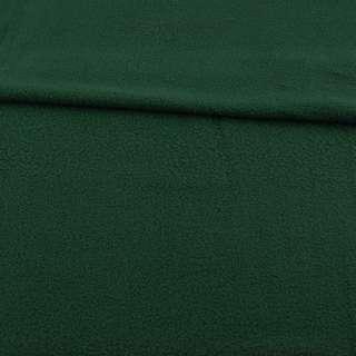 Флис зеленый темный, ш.165 оптом
