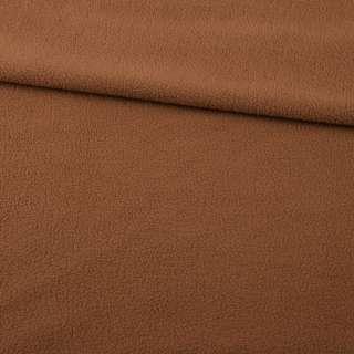 Фліс коричневий світлий ш.170 оптом