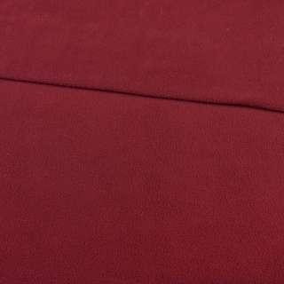 Флис бордовый ш.165 оптом