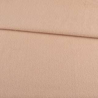 Фліс бежево-рожевий світлий, ш.165 оптом