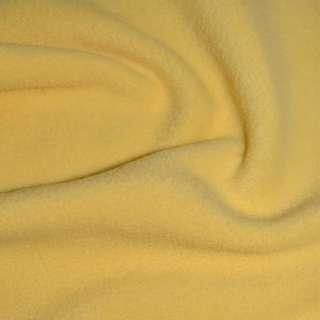 Флис бледно желтый ш.170 оптом