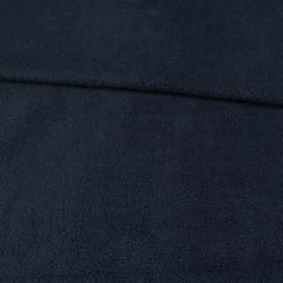 Флис синий темный, ш.165 оптом