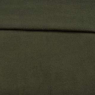 Флис оливковый темный ш.165 оптом