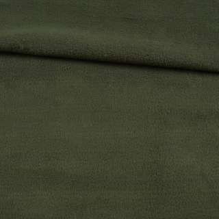 Флис оливковый темный ш.145 оптом
