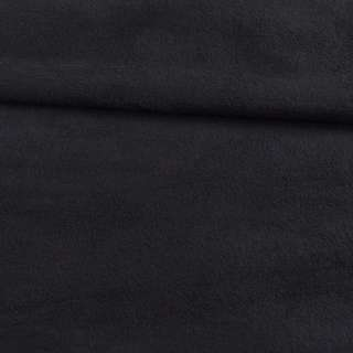 Флис черный с серым оттенком ш.150 оптом