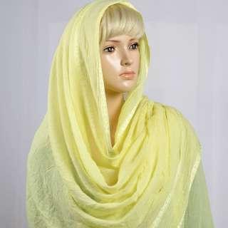 Марлевка с жаккардовыми полосками светло-желтая ш.115 оптом
