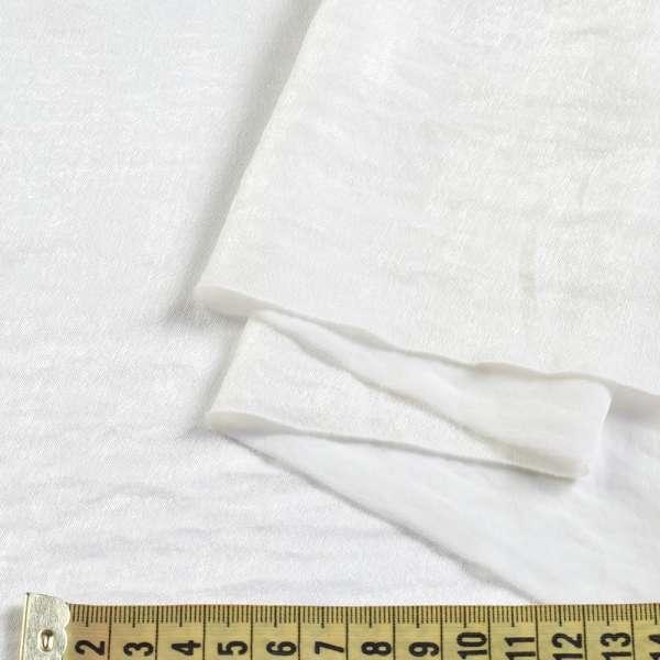 Шелк мокрый искусственный молочный, ш.150 оптом