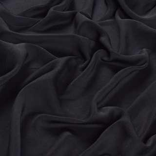 Шелк мокрый искусственный черный матовый, ш.150 оптом