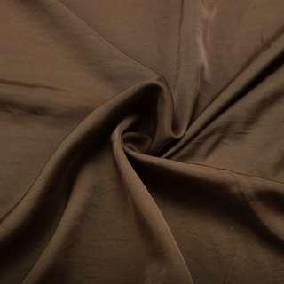 Шелк мокрый искусственный оливковый темный матовый ш.153 оптом