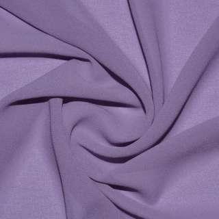 Креп-шифон стрейч фиолетово-серый ш.150 оптом