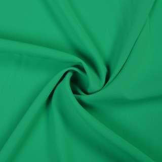 Стрейч шифон зеленый изумрудный ш.150 оптом