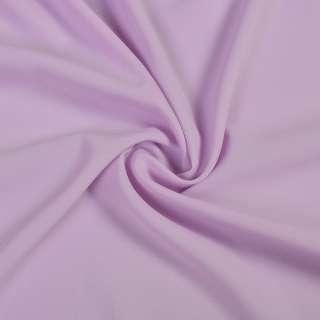 Стрейч шифон сиреневый светлый ш.150 оптом