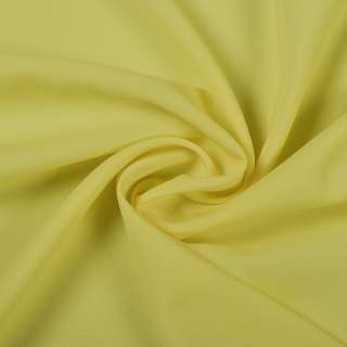 Стрейч шифон желто лимонный ш.150 оптом