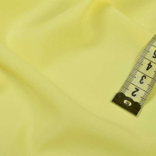 Стрейч шифон ярко-желтый ш.150 оптом