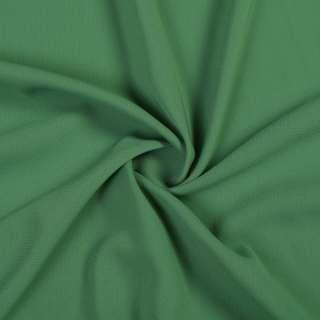 Стрейч шифон зеленый с серым оттенком ш.150 оптом