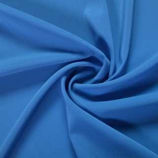 Шифон стрейч синий яркий ш.150 оптом