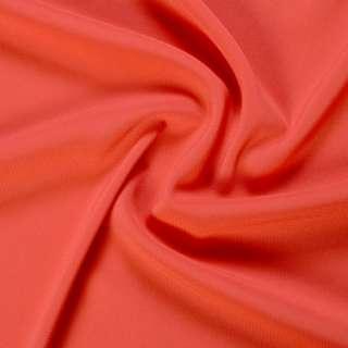 Стрейч шифон кораллово красный ш.150 оптом