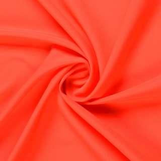 Шифон стрейч оранжево-красный ш.150 оптом