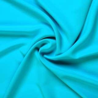 Стрейч шифон бирюзово голубой ш.150 оптом