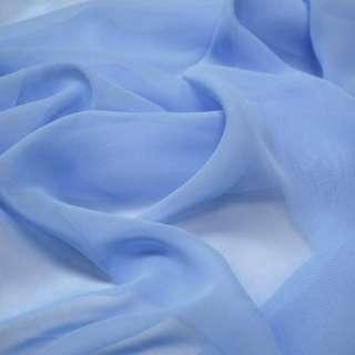 Шифон голубой с синим оттенком ш.150 оптом