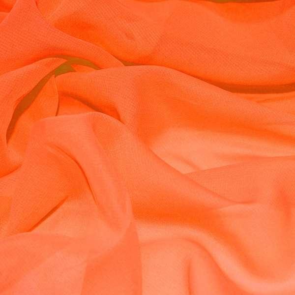 шифон оранжево красный ш.150 оптом