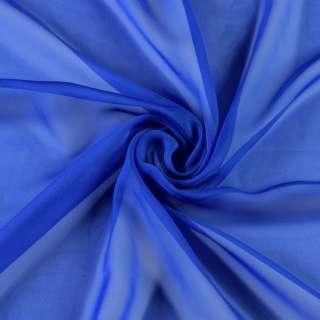 Шифон диллон синий ш.150 оптом