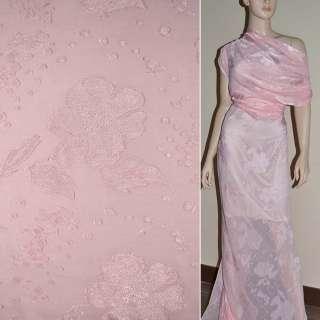 деворе розовое гладкокрашеное ш.140 оптом