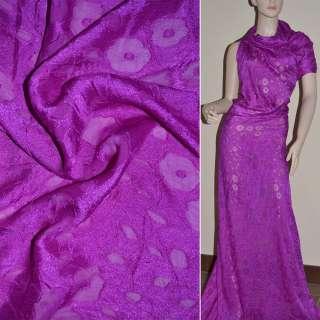 деворе фиолетовое гладкокрашеное ш.140 оптом